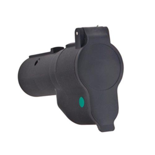 Tow Ready 20142 7-Way Flat Pin to 7-Flat Plug to Plug Adapter