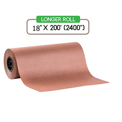 200 Peach - Kraft Pink Butcher Paper Roll - 18