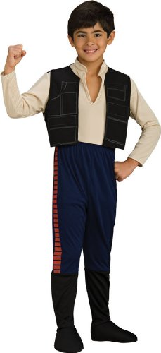 Big Boys' Han Solo Costume - S