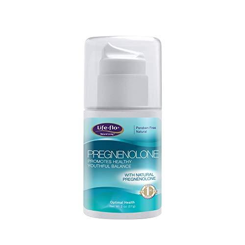 Life-flo® Pregnenolone Cream   Physician-Developed Precursor for Optimal Balance   Includes Vitamin E, MSM, Grapeseed Extract   Fragrance Free   2oz