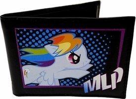 Fashion Accessory Bazaar My Little Pony Rainbow Dash Bifold - Wallet Bi Fold Pony