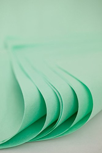 25 X Sheets Tissue Paper, Mint Colors, 20 X 27-inch