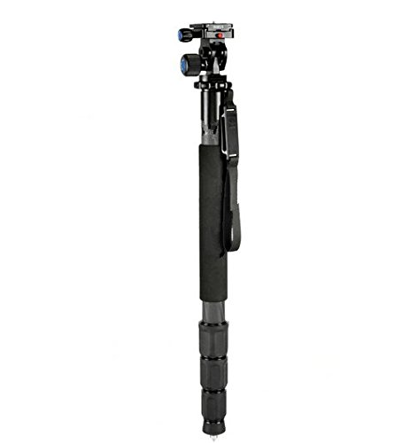 GOWE Portable Lightweight Carbon Fiber Professional Camera Monopod + L10 Tripod Head + with Bag for Canon Nikon Sony DSLR by Gowe (Image #6)