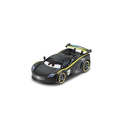 Disney/Pixar Cars, WGP (World Grand Prix) Die-Cast, Lewis Hamilton #8/15, 1:55 Scale: Toys & Games