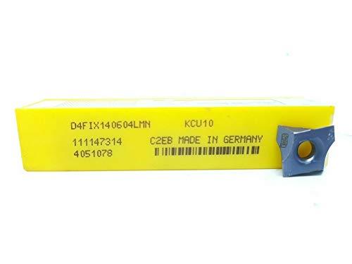 Kennametal Hartmetall-Einsätze D4FIX140604LMN Grade KCU10, 10 Stück
