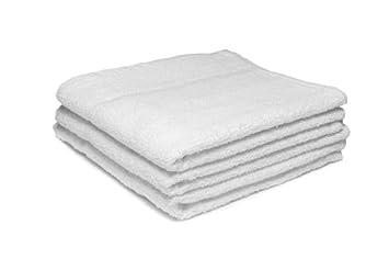 24 x blanco diseño de peluquería/de salón de toalla/paños de BEAUTY, 400GM, 50 x 85 cm: Amazon.es: Hogar