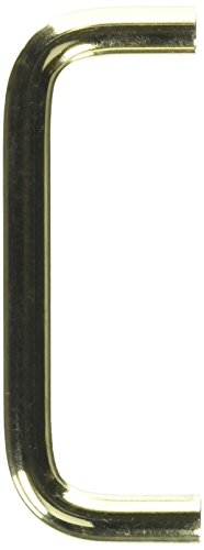 Amerock BP865CS3 Polished Brass Wire Cabinet Hardware Handle Pull, Solid Brass - 3