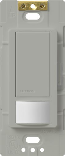 Low Voltage Motion Sensors (Lutron Lutron MS-OPS6M2-DV-GR Maestro 6-Amp Multi-Location Dual Voltage Occupancy Sensing Switch, Gray)