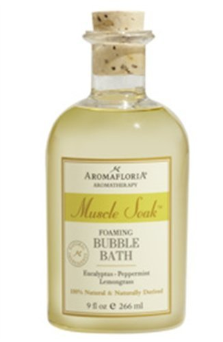 Aromafloria Muscle Soak Foaming Bubble Bath 9 oz