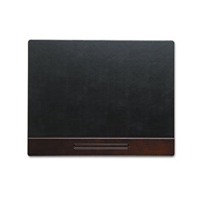 Wood Tone Desk Pad, Mahogany, 24 x 19 (Sanford Mahogany Pencils)