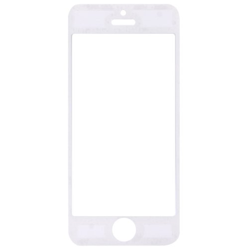 Original THESMARTGUARD ECHTGLAS premium Displayschutz (0,4mm) in weiß für iPhone 5 / 5S