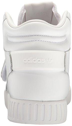 Adidas Originals Mens Tubolari Scarpe Cinghia Invasore Bianco / Bianco / Bianco