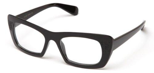 Newbee Fashion - Thick Frame Cateye Celeb Fashion Clear - With Celeb Glasses