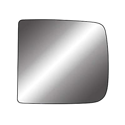 Fit System 33315 Heated Repl. Glass for Ram 1500, 2500/3500, tow mirror big lens, LH: Automotive