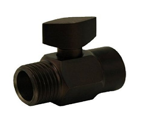 CPI PLU6201ORB Overhead Shower Water-Volume Control, Oil Rubbed Bronze Finish by CPI from CPI