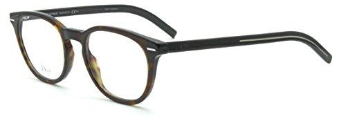 Dior Black Tie 238 Unisex Prescription RX Eye-glasses Frame (0086), 50mm