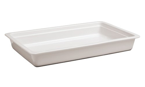 Paderno World Cuisine Induction Porcelain Hotel Pan, 1/1 Hotel Pan Size