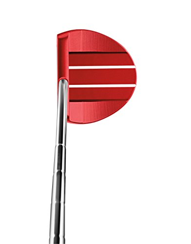 TaylorMade Golf Tour Preferred Red Collection Ardmore #7 Center Offset Super Stroke 34 IN Putter, Right Hand