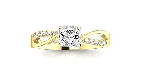 0.63 Ct Tw Diamond - 4