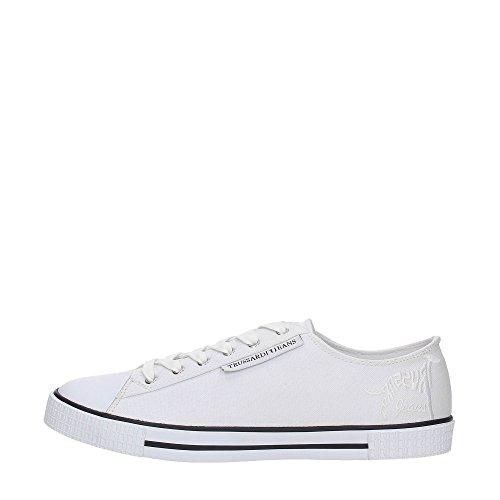 Trussardi Jeans 77S517 Sneakers Uomo WHITE 44