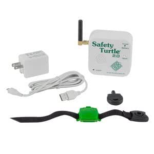 New safety turtle 2 0 child immersion pool water alarm kit patio lawn garden for Child alarm for swimming pools