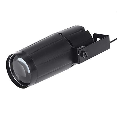Docooler LED luz de la etapa 5W LED Blanco Beam Pinspot Super Lligero Lampara Brillante Bolas de Espejo (1PC)