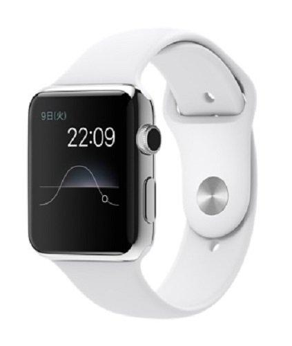 Apple Watch 38mm MJ302J/A [ホワイトスポーツバンド]