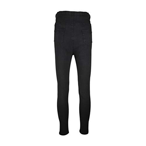 Alta Jeans Donne Pantaloni Premaman Regolabile Maternità Slim Fit Nero Comfort Hzjundasi Vita Jeggings Abiti Incinte A PXqxTWd