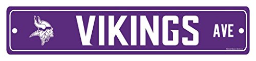 NFL Minnesota Vikings Street Sign by WinCraft