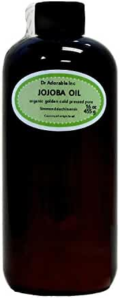 Jojoba Oil Golden Organic 100% Pure 16 Oz