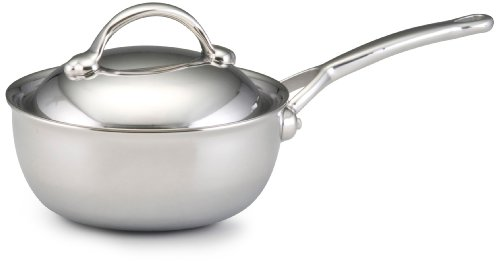 (BonJour Stainless Steel Clad 2.5-Quart Covered Saucier )