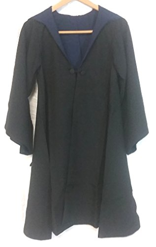 Harry Potter Deluxe Ravenclaw Black School Robe Habber & Dasher Discontinued - SIZE - YOUTH SMALL/MEDIUM -