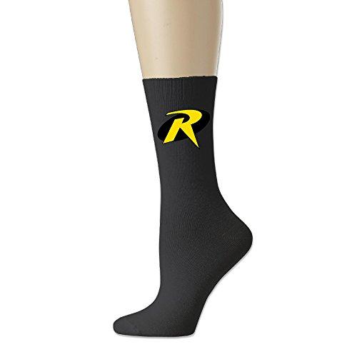 Ayaxi Robin Symbol Unisex Cotton Crew Socks]()