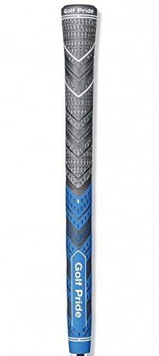 Golf Pride MCC Plus4 New Decade MultiCompound Golf Grip, Standard, Blue/Gray