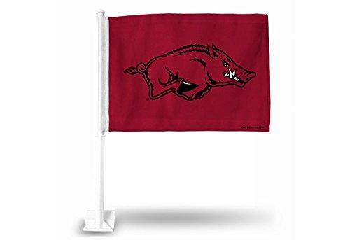 Rico Industries NCAA Arkansas Razorbacks Car Flag