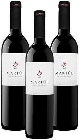 Martúe Crianza Pago Campo de la Guardia - Vino Tinto, 3 botellas x 750 ml