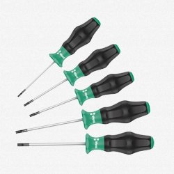 - Wera 1367/6 Kraftform Comfort Torx Screwdriver Set