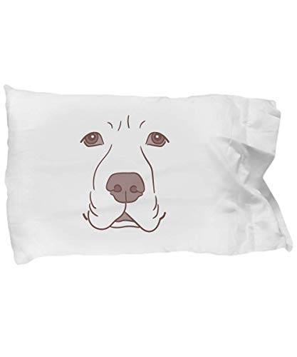 Cute Pillow Covers Design Labrador Face Funny Dog Halloween Costume Gift Pillow Cover -