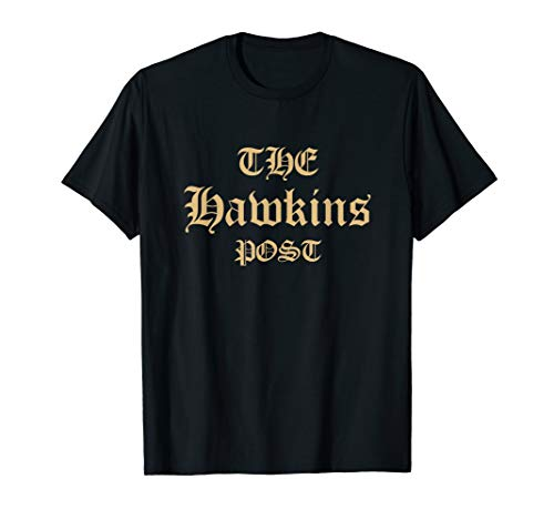 The Hawkins Post Graphics Stranger Shirt For Men's & Women's