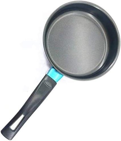 16cm Mini non collante base plat ménages antiadhésives Pancake Egg cuisson casseroles anti-brûlure poignée Dropshipping (Color : -)