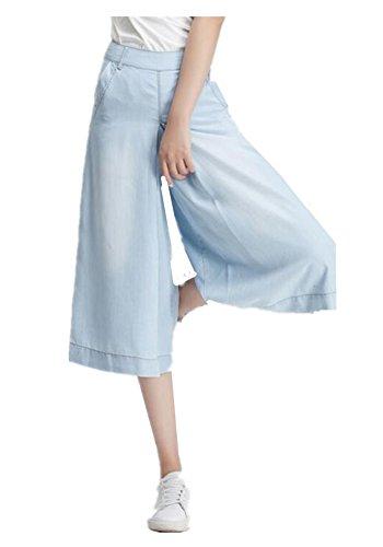 Skirt BL Women's Plus Size Wide Leg Bootcut Capri Palazzo...