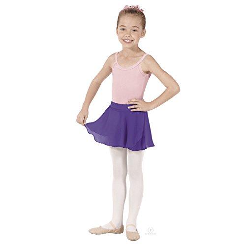 Girls Chiffon Mock Wrap Skirt (Skirt Mock Wrap)