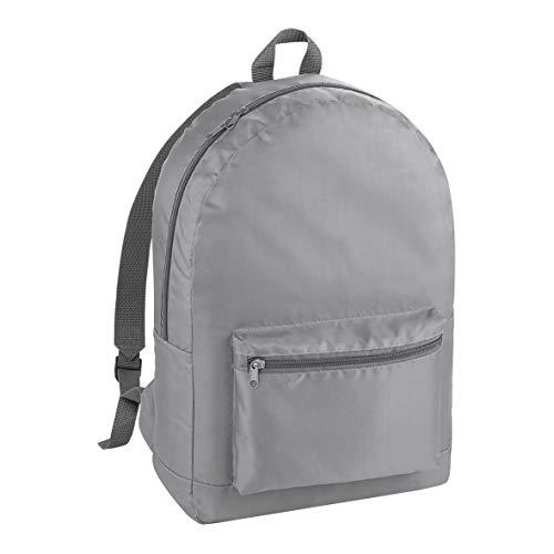 BagBase Packaway Backpack - Graphite Grey/Graphite Grey