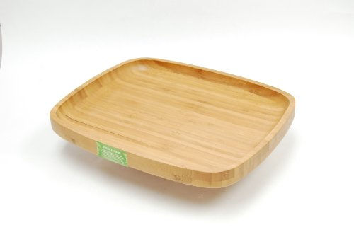 Creative Home 73371 Bamboo Serving Tray, Large, 14
