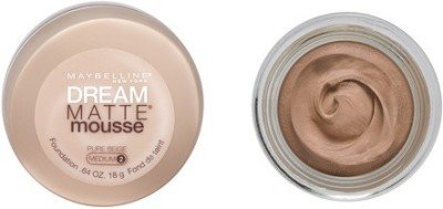 Maybelline Dream Matte Mousse - 18 g(Pure Beige Medium - 2 ()
