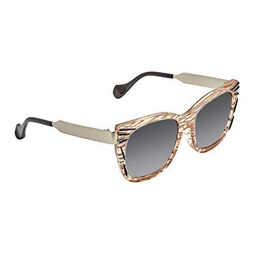 Fendi Women's Thierry Lasry x Fendi Kinky Sunglasses, Pink Palladium/Grey, One ()