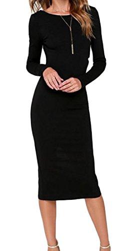 Pleated Long Sleeved Dress - 9
