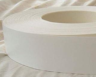Pre Glued Iron on White Melamine Edging Tape 30mm wide x 5 Metres.Free Postage