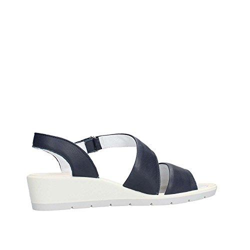 Soft 1281511 Blue Sandal Enval Woman gq0wdgf