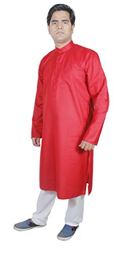 mens-cheap-clothes-kurta-pajama-wedding-indian-clothing-for-men-red-size-l